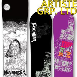 19-20 ノベンバー スノーボード NOVEMBER アーティストグラフィックリミテッド ARTISTE LIMITED 板 スノボー SNOWBOARD|a2b-web