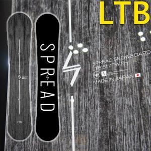 19-20 スプレッド スノーボード LTB SPREAD SNOWBOARD 尾川慎二 プロデュース 板 グラトリ|a2b-web