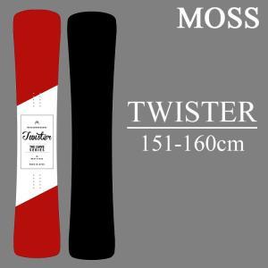 18-19 MOSS TWISTER モス ツイスター スノーボード 板 スノボー ハンマーヘッド MOSS SNOWBOARD 予約商品|a2b-web