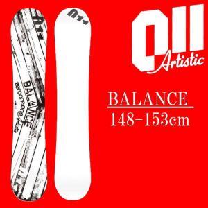 18-19 011artistic BALANCE スノーボード ゼロワンワンアーティスティック バランス メンズサイズ 板 グラトリ 予約商品|a2b-web