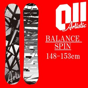 18-19 011artistic BALANCE SPIN スノーボード ゼロワンワンアーティスティック バランススピン メンズサイズ 板 グラトリ 予約商品|a2b-web