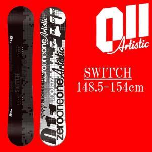 18-19 011artistic SWITCH スノーボード ゼロワンワンアーティスティック スウィッチ メンズサイズ 板 グラトリ 予約商品|a2b-web
