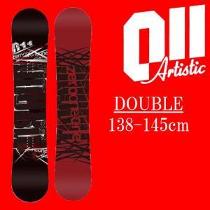 18-19 011artistic DOUBLE スノーボード ゼロワンワンアーティスティック ダブル レディースサイズ 板 グラトリ 予約商品|a2b-web