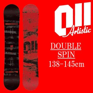 18-19 011artistic DOUBLESPIN スノーボード ゼロワンワンアーティスティック ダブルスピン レディースサイズ 板 グラトリ 予約商品|a2b-web