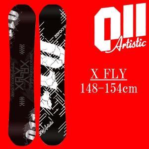 18-19 011artistic XFLY スノーボード ゼロワンワンアーティスティック エックスフライ メンズサイズ 板 グラトリ 予約商品|a2b-web