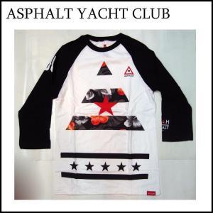 アスファルトヨットクラブ ラグラン Tシャツ ASPHALT YACHT CLUB NYJAH HUSTON|a2b-web