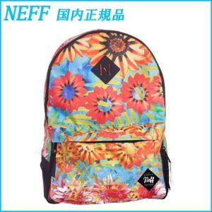 NEFF バックパック SCHOLAR BACKPACK 花柄 リュック  バッグ ネフ|a2b-web