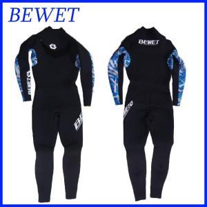 BEWET ビーウェットウェットスーツ PLAYER 3mm FULL フルスーツ|a2b-web