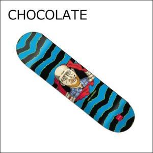 正規品 CHOCOLATE デッキ MJ RIPPER チョコレート スケートボード  スケートボードデッキ / スケボー SKATEBOARD DECK|a2b-web