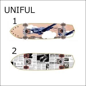 正規品 UNIFUL クルーザー UNIFIGHTER COMPLETE 【ユニフル スケートボード】 コンプリート / スケボー クルージング|a2b-web