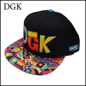 DGK スナップバックキャップ ディージーケー SUMMER CITY SNAPBACK CAP|a2b-web