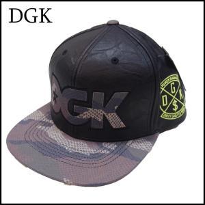 DGK ストラップバックキャップ ディージーケー COLD BLOOD STRAPBACK CAP|a2b-web