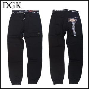 DGK ジョガーパンツ ディージーケー JOGGER PANTS ブラック 黒|a2b-web