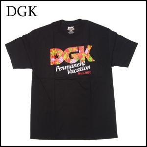 DGK Tシャツ ディージーケー 半袖 TEE シャツ PERMANENT VACATION  スケーター |a2b-web