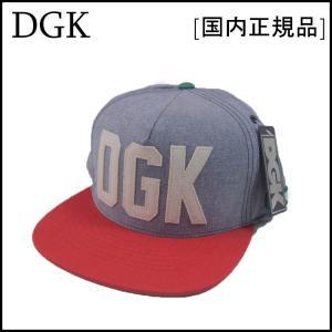 DGK スナップバックキャップ ディージーケー HUSTLIN SNAPBACK CAP|a2b-web