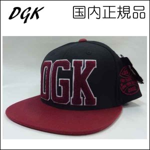 DGK キャップ Dirty Ghetto Kids ディージーケー DUG OUT SNAPBACK CAP|a2b-web