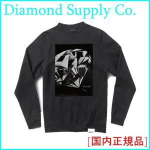 Diamond Supply Co.  ダイヤモンド サプライ CREWNECK SWEATSHIRT クルーネック スウェット|a2b-web