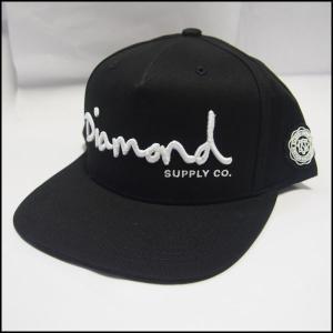 Diamond Supply Co. キャップ OG SCRIPT SNAPBACK ダイヤモンドサプライ スナップバックキャップ CAP [国内正規品] a2b-web