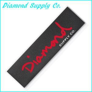 正規品 Diamond Supply Co. デッキテープ ダイヤモンドサプライ OG SCRIPT GRIPTAPE SKATEBOARD スケートボード スケボー グリップテープ a2b-web