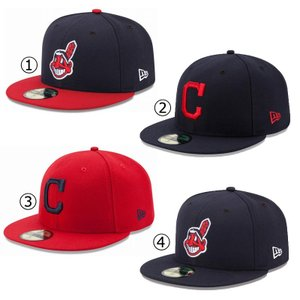 ニューエラ キャップ クリーブランド インディアンス NEWERA MLB AUTHENTIC COLLECTION 59FIFTY CAP CLEVELAND INDIANS NEW ERA ※MLB|a2b-web