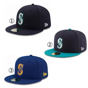 ニューエラ キャップ シアトル マリナーズ NEWERA MLB AUTHENTIC COLLECTION 59FIFTY CAP SEATTLE MARINERS NEW ERA ※MLB|a2b-web