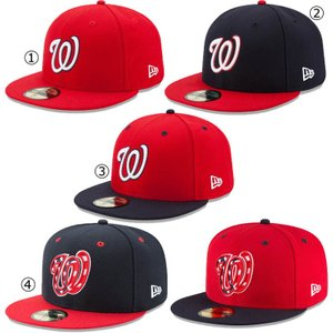 ニューエラ キャップ ワシントン ナショナルズ NEWERA MLB 59FIFTY CAP WASHINGTON NATIONALS NEW ERA ※MLB|a2b-web