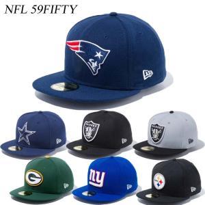 ニューエラ キャップ 帽子  NEWERA NFL 59FIFTY CAP チーム アメフト NEW ERA ※NFL|a2b-web