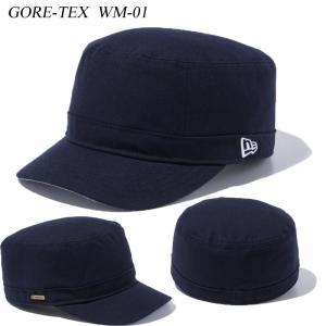 ニューエラ ワークキャップ GORE-TEX ゴアテックス WM-01 WM01 ネイビー NAVY 11433911 NEW ERA|a2b-web