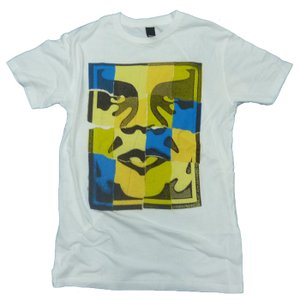 OBEY オベイ THRIFT TEES RIPPED ICON WHTIE ホワイト!!|a2b-web