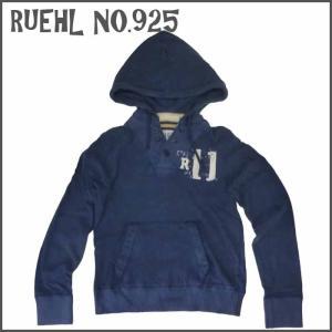 RUEHL No. 925 メンズ パーカー ネイビー フード  ルール ナンバー925  アメカジ|a2b-web