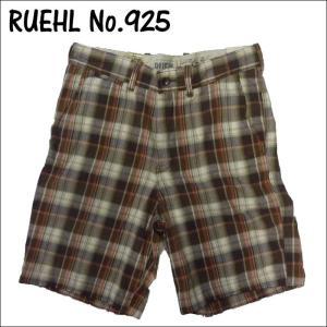 RUEHL No. 925 メンズ チェック柄 ショートパンツ ハーフパンツ ショーツ 短パン  ルール ナンバー925  アメカジ|a2b-web