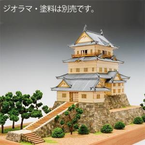 ウッディジョー/木製建築模型 1/150 小田原城