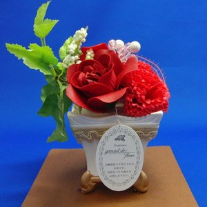 【送料無料】サボン ドゥ フルール オリジナルアレンジ204 (ギフト 母の日 誕生日 結婚記念日 敬老の日 プレゼント)|aaa83900