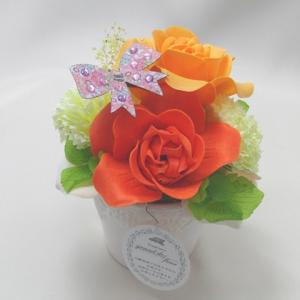 【送料無料】サボン ドゥ フルール オリジナルアレンジ008 (ギフト 母の日 誕生日 結婚記念日 敬老の日 プレゼント)|aaa83900