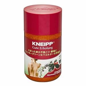 クナイプ  KNEIPP グーテエアホールング バスソルト ウィンターグリーン&ワコルダーの香り 送...