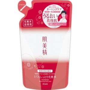 肌美精 潤濃ターニングケア保湿 とてもしっとり化粧水 詰替用 180ml aaa83900