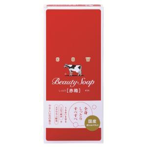 牛乳石鹸 カウブランド 赤箱6コ入|aaa83900