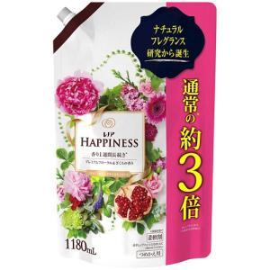 レノア ハピネス 柔軟剤 フローラル&ざくろの香り 詰め替え 1180mL