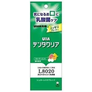 UHA味覚糖 デンタクリアタブレット フルーティミント 7g aaa83900