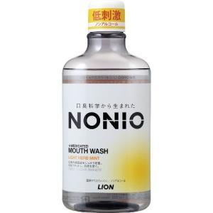 NONIO マウスウォッシュ ライトハーブミント 600ml【医薬部外品】 送料別(宅配便)。 配送...