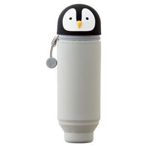 リヒトラブ スタンドペンケース ペンギン A-7712-10 aaa83900