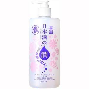 日本盛 日本酒のたっぷり保湿化粧水 しっとり 550ml|aaa83900