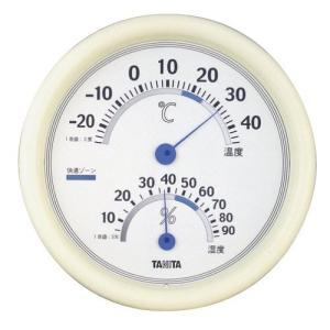 タニタ アナログ温湿度計 ホワイト TT-513-WH aaa83900