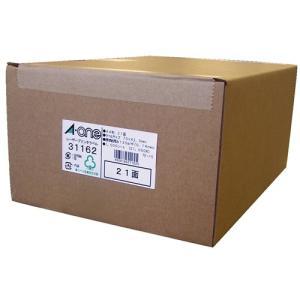 31162 エーワン ラベルシール マット紙 21面 1000枚 レーザープリンタ用 aaa83900
