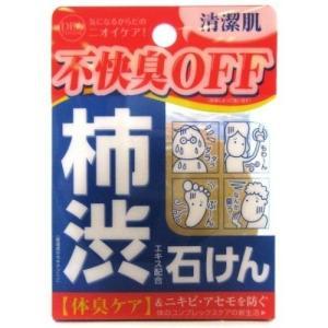 柿渋石けん デオタンニングソープ 柿渋エキス配合 100g aaa83900