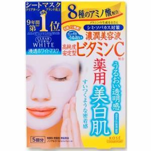 コーセー クリアターン ホワイトマスク ビタミン...の商品画像