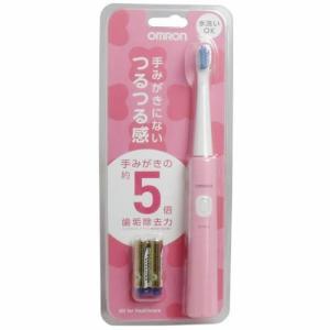 オムロン 音波式電動歯ブラシ ピンク HT-B210-PK|aaa83900
