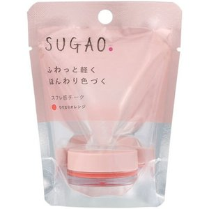 SUGAO スフレ感 チーク ひだまりオレンジ|aaa83900