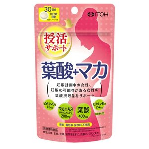 井藤漢方製薬 葉酸+マカ 30日分 60粒 aaa83900