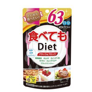 井藤漢方製薬 食べてもDiet 約63日分 378粒の商品画像|ナビ
